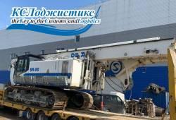 Перевозка буровой установки SOILMEC SR 80