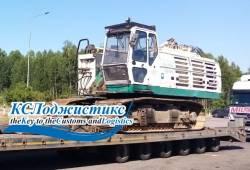 Перевозка буровой установки Casagrande B250 из Москвы в Санкт-Петербург.