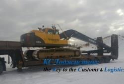 Фото 1 - перевозка экскаватора Вольво