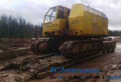 Фото 1 - перевозка гусеничного крана РДК-250
