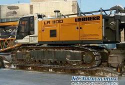 Фото 1 кран LIEBHERR LR 1100