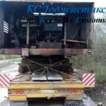 фото 2 - перевозка сломанного крана