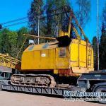 Фото - перевозка гусеничного крана РДК-250