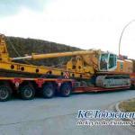 Фото 2 транспортировка буровой установки BAUER BG36