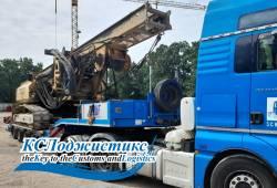Доставка из Германии буровой установки BAUER BG 9 Н