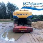 Перевозка BAUER BG 25-C из Санкт-Петербурга в Москву